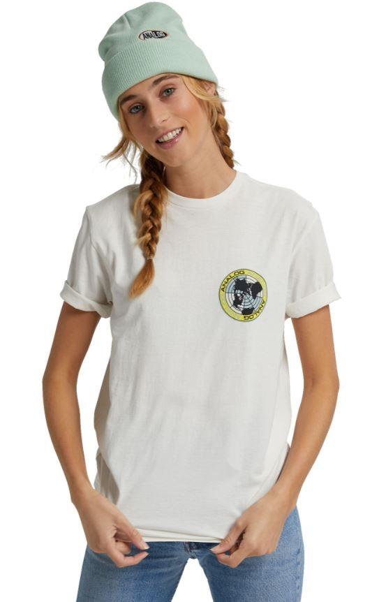 Analog Adult Unisex Halifax Short Sleeved T-Shirt, M Stout White