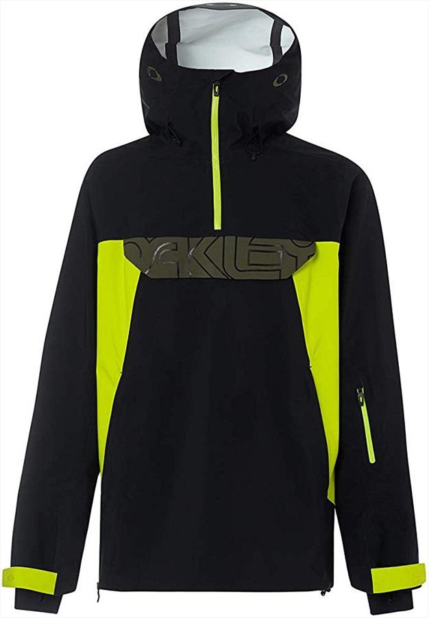 Oakley Black Forest 3L 15K Shell Ski/Snowboard Jacket, XL Blackout