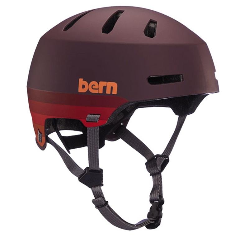 Bern Macon H2O Watersports Helmet, S Retro Maroon 2021