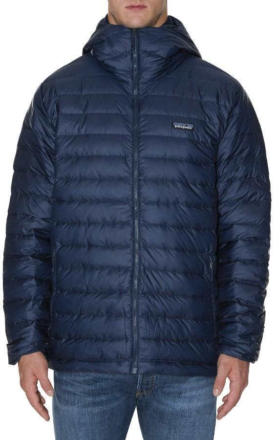 Patagonia Down Sweater Hoody Insulated Hooded Jacket XL Classic Navy