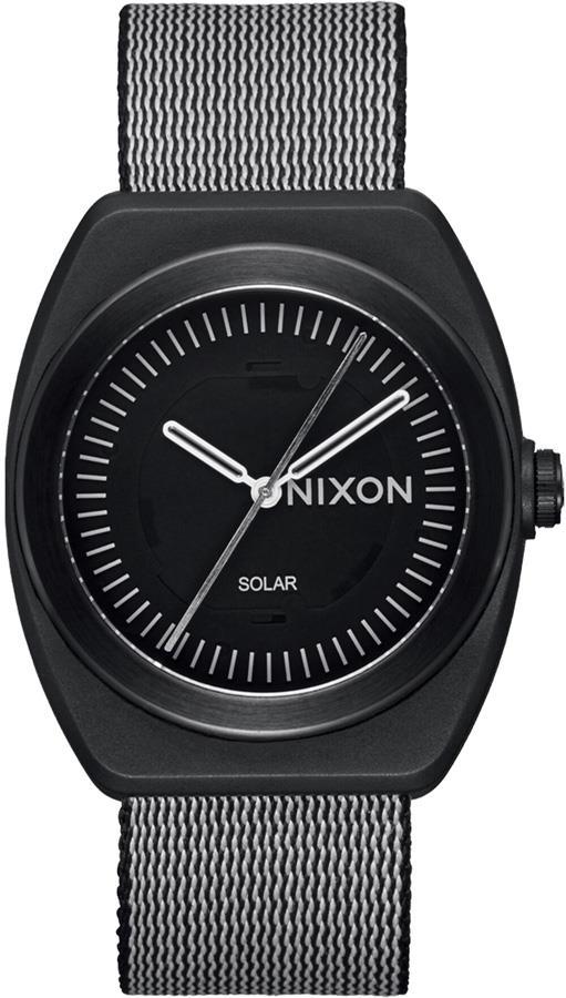 Nixon The Light-Wave Solar Powered Wrist Watch, All Black