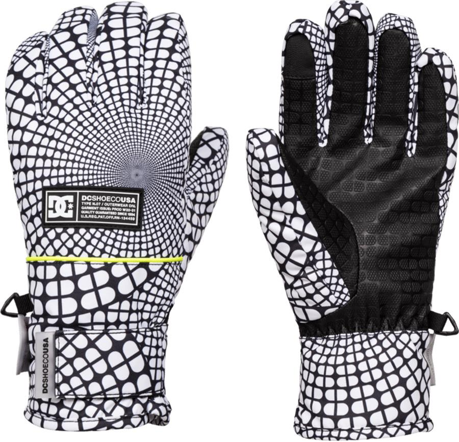 DC Franchise Waterproof Women's Ski/Snowboard Gloves, L Opticool
