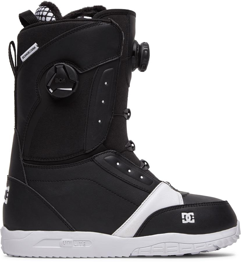 DC Lotus Women's Dual Boa Snowboard Boots, UK 7 Black 2021