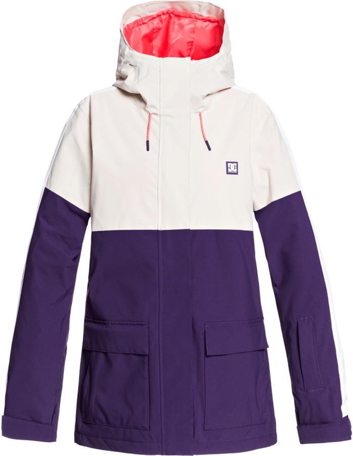 DC Cruiser Women's Ski/Snowboard Insulated Jacket, XS Grey Morn