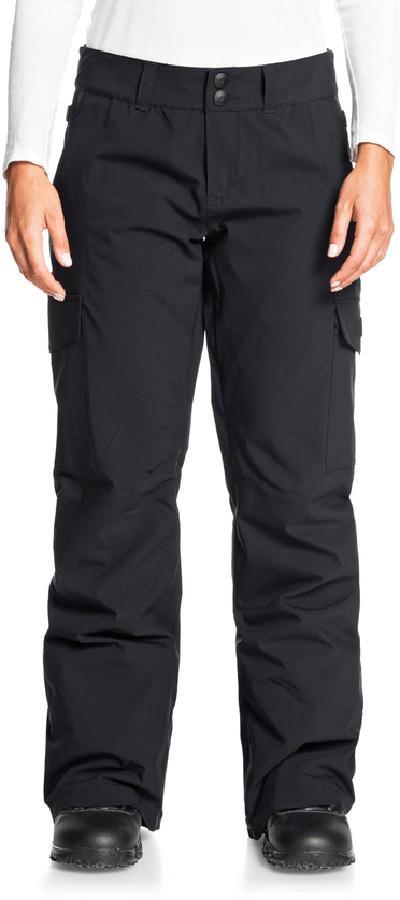 DC Nonchalant Insulated Women's Ski/Snowboard Pants, L Black