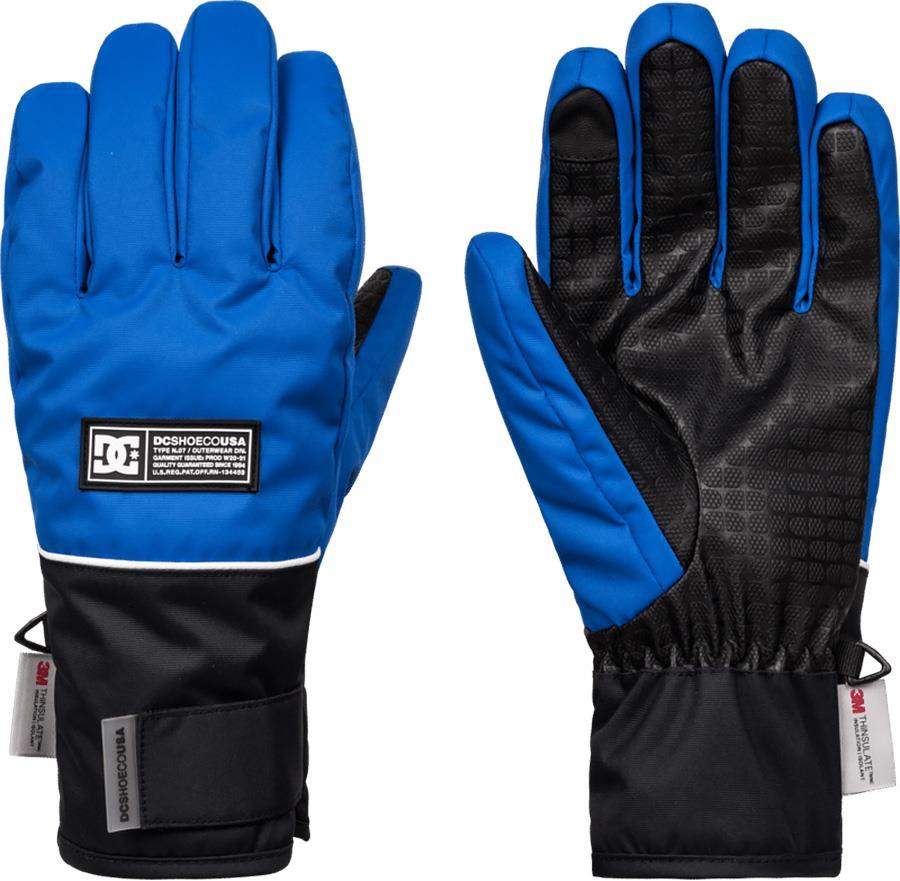 DC Franchise Ski/Snowboard Gloves, M Iolite Blue