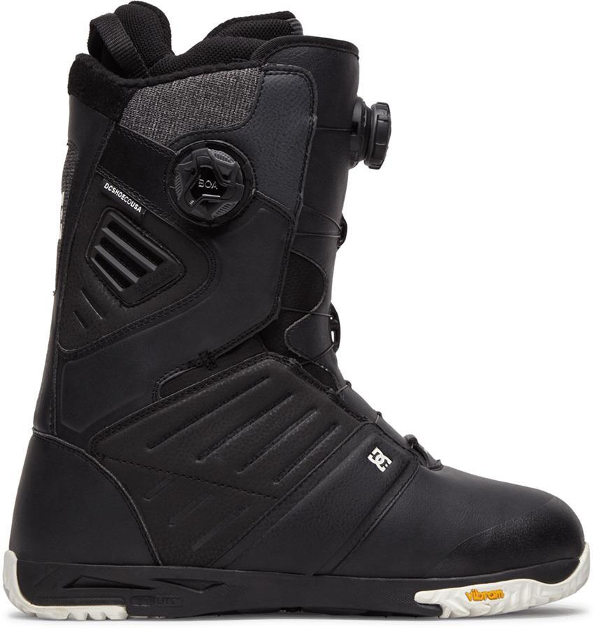 DC Judge Dual Boa Snowboard Boots, UK 10.5 Black 2021