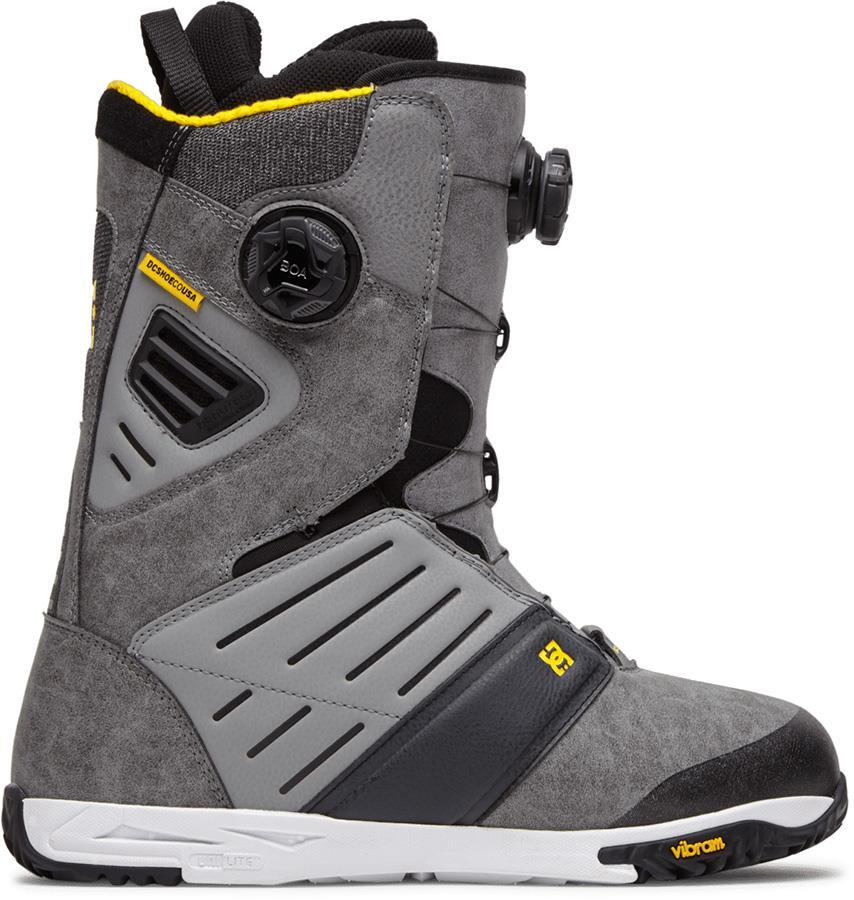 DC Judge Dual Boa Snowboard Boots, UK 10.5 Frost Grey 2021