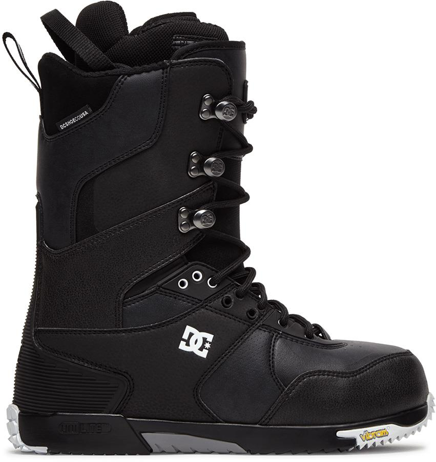 DC The Laced Boot Lace Snowboard Boots, UK 10.5 Black 2021