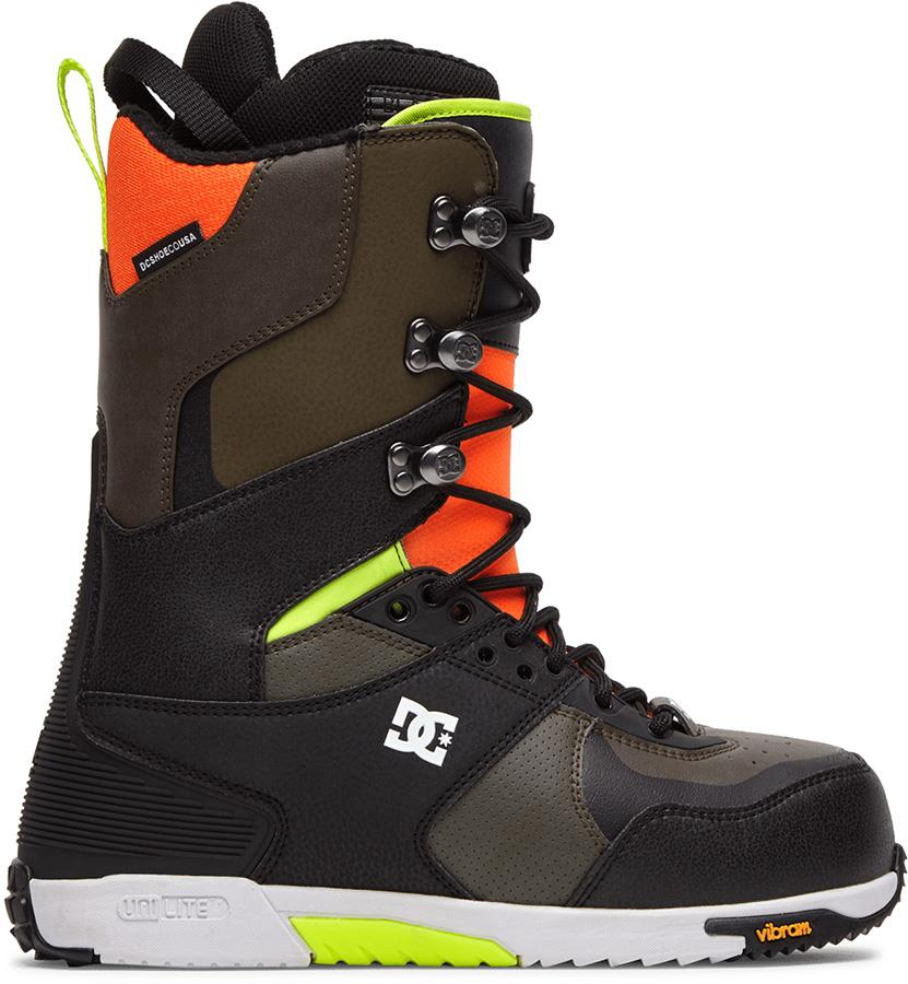 DC The Laced Boot Lace Snowboard Boots, UK 11 Multi 2021