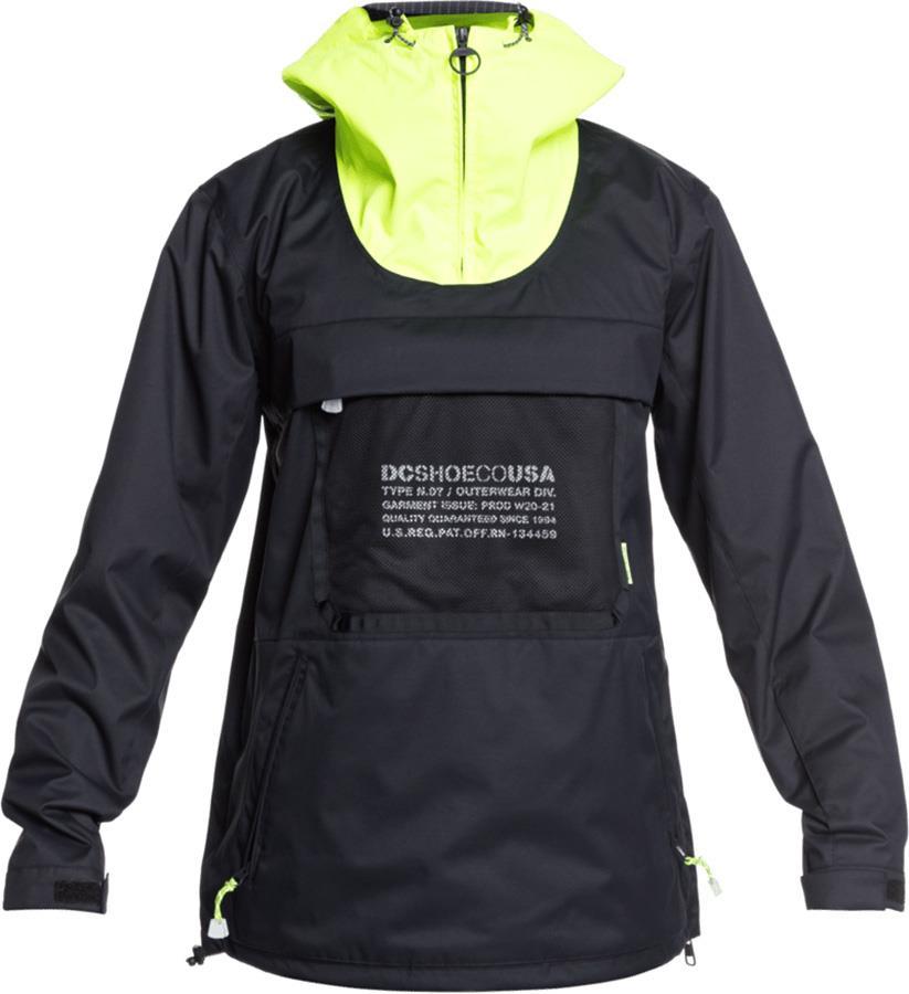 DC ASAP Anorak Ski/Snowboard Shell Jacket, L Black