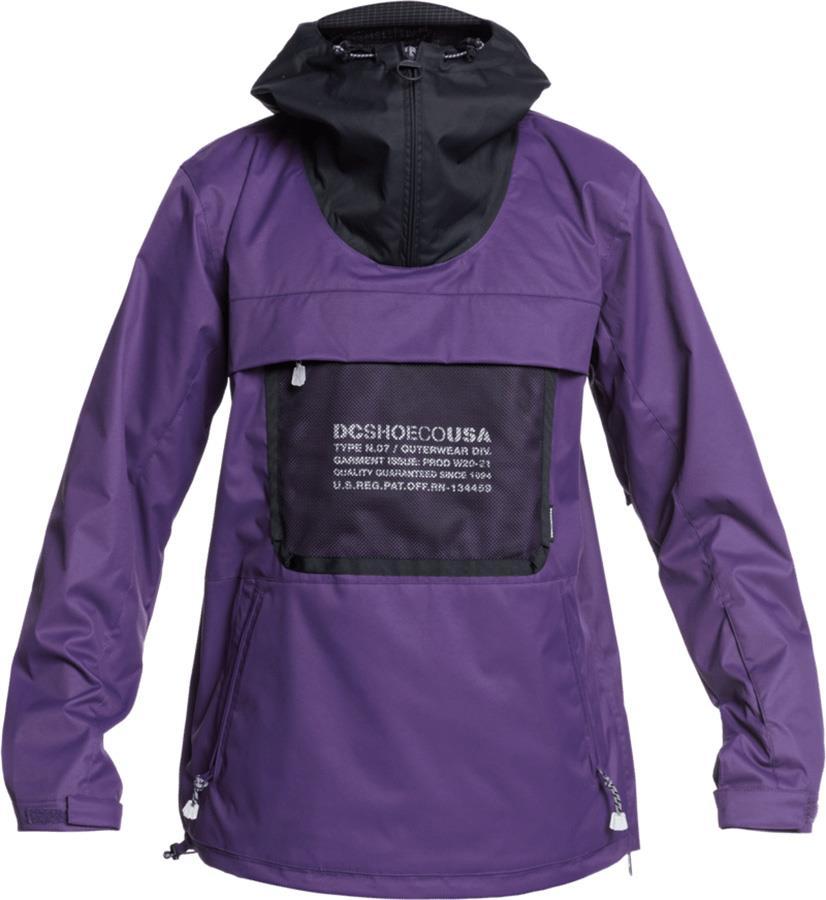 DC ASAP Anorak Ski/Snowboard Shell Jacket, XL Grape