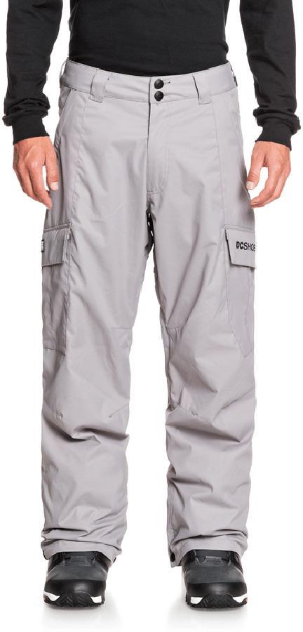 DC Banshee Ski/Snowboard Insulated Pants, M Frost Grey