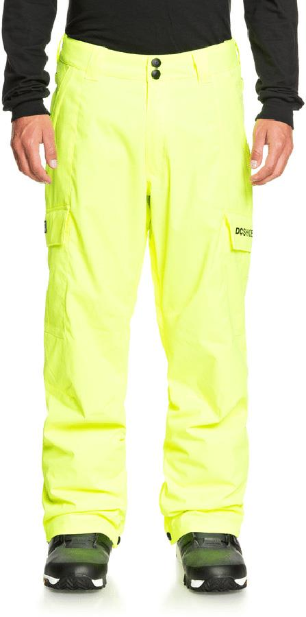 DC Banshee Ski/Snowboard Insulated Pants, XL Safety Yellow