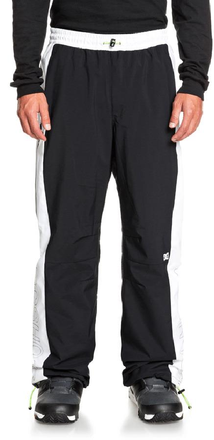 DC Podium Stretch Ski/Snowboard Shell Pants, S Black