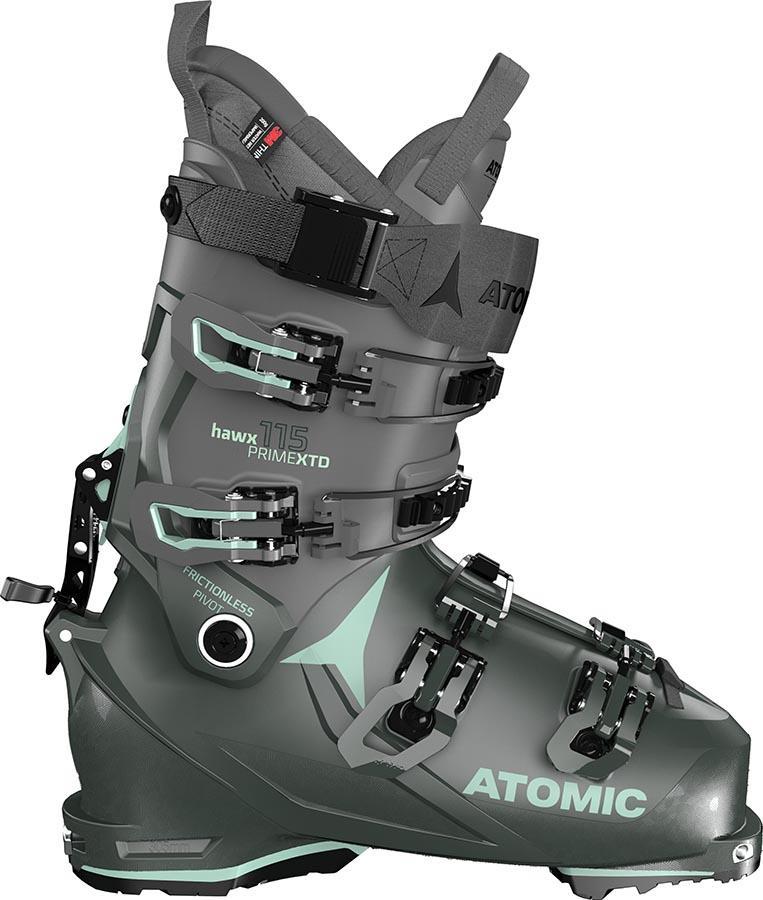 Atomic Hawx Prime XTD 115 W CT GW Women's Ski Boots, 24/24.5 Green 2022