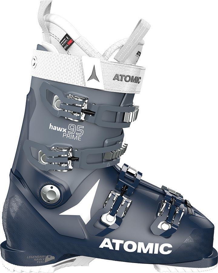 Atomic Hawx Prime 95 W Women's Ski Boots, 25/25.5 Black/Denim 2022