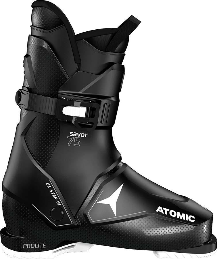 Atomic Savor 75 W Women's Ski Boots, 22/22.5 Black/Silver 2022
