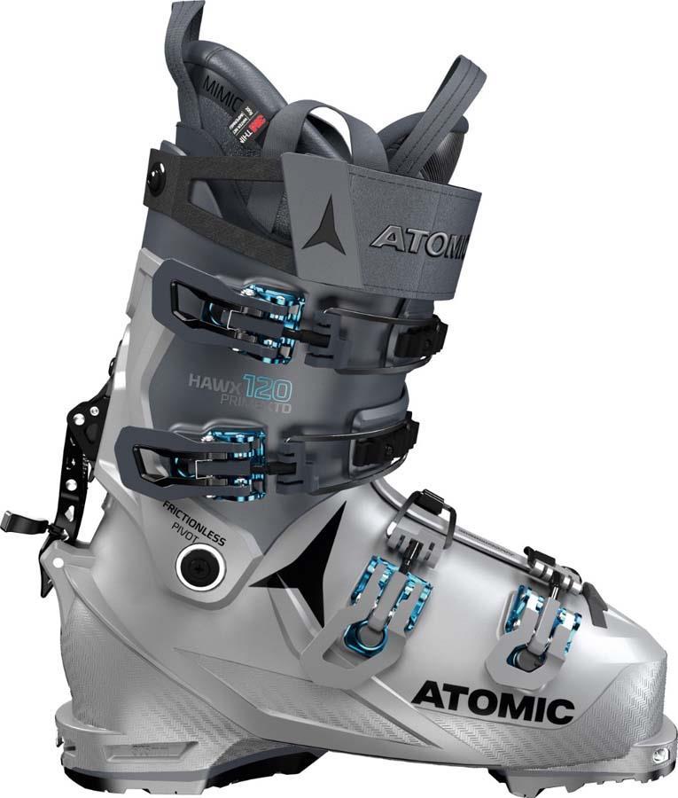 Atomic Hawx Prime XTD 120 CT GW Ski Boots, 26/26.5 Grey/ Blue 2022