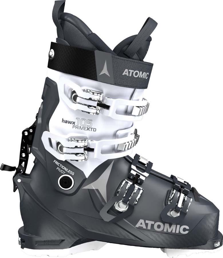 Atomic HAWX PRIME XTD 105 W C Women's Ski Boots, 24/24.5 Grey/Vapor