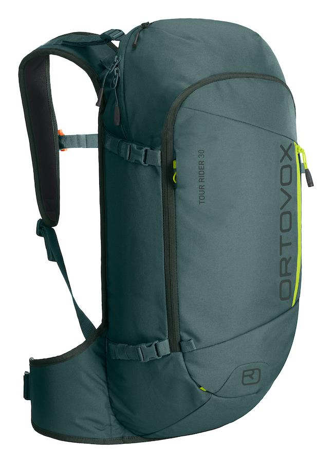 Ortovox Tour Rider 30 Ski/Snowboard Backpack, 30L Green Dust