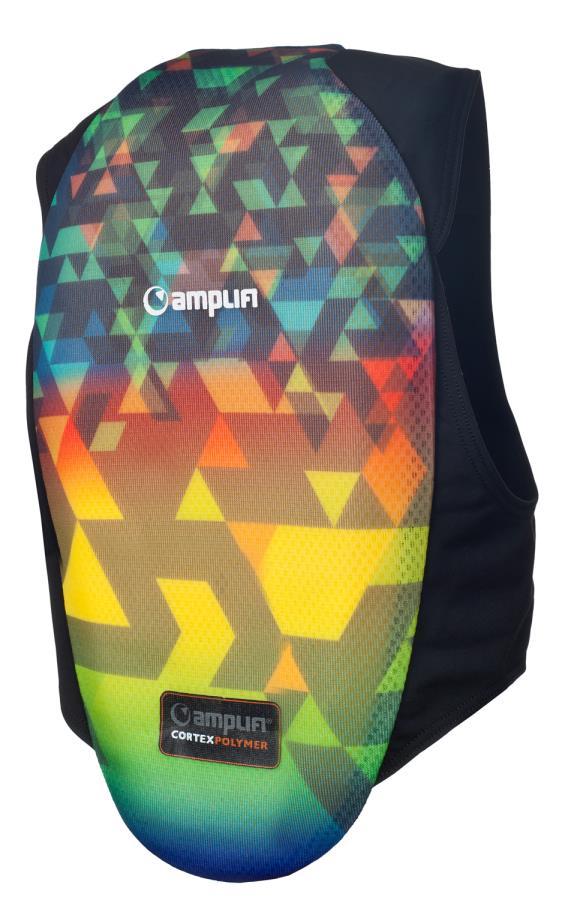 Amplifi Polymer Grom Protective Ski/Snowboard Kid's Impact Vest, S