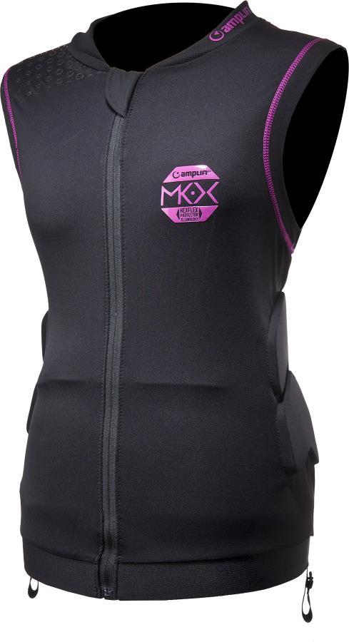 Amplifi MKX Women's Top Ski/Snowboard Impact Jacket, M/L Black Rose