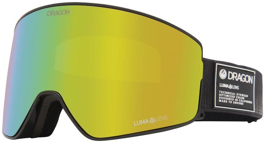 Dragon PXV2 LumaLens Gold Ion Snowboard/Ski Goggles, M/L Anthracite