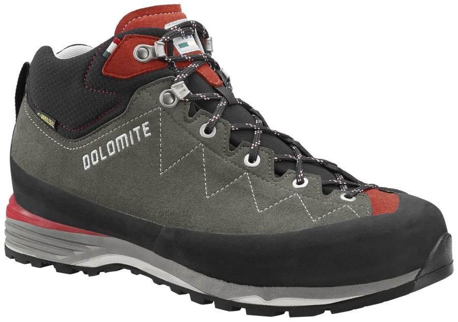 Dolomite Torq Lite GTX Hiking Boots, UK 9.5 Anthracite/Scarlet