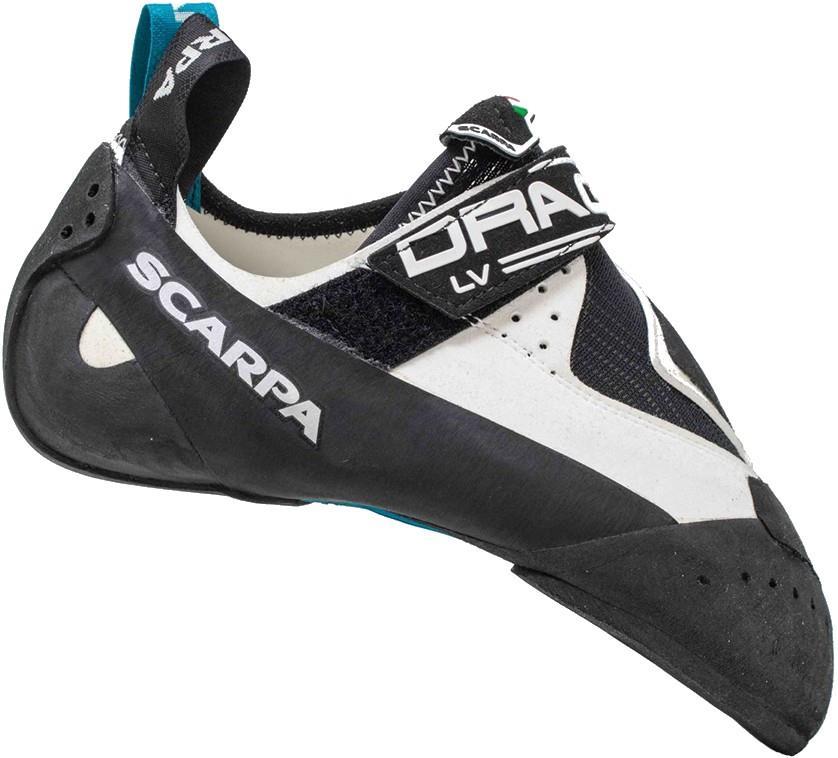 Scarpa Adult Unisex Drago Lv Rock Climbing Shoes, Uk 2 | Eu 34.5 White