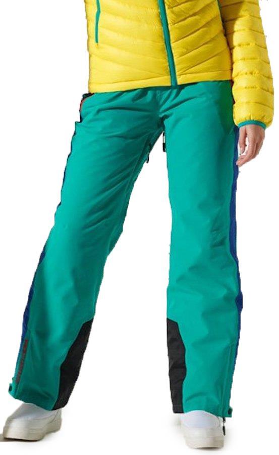 Superdry Alpine Women's Ski/Snowboard Pants, UK 12 Lapis