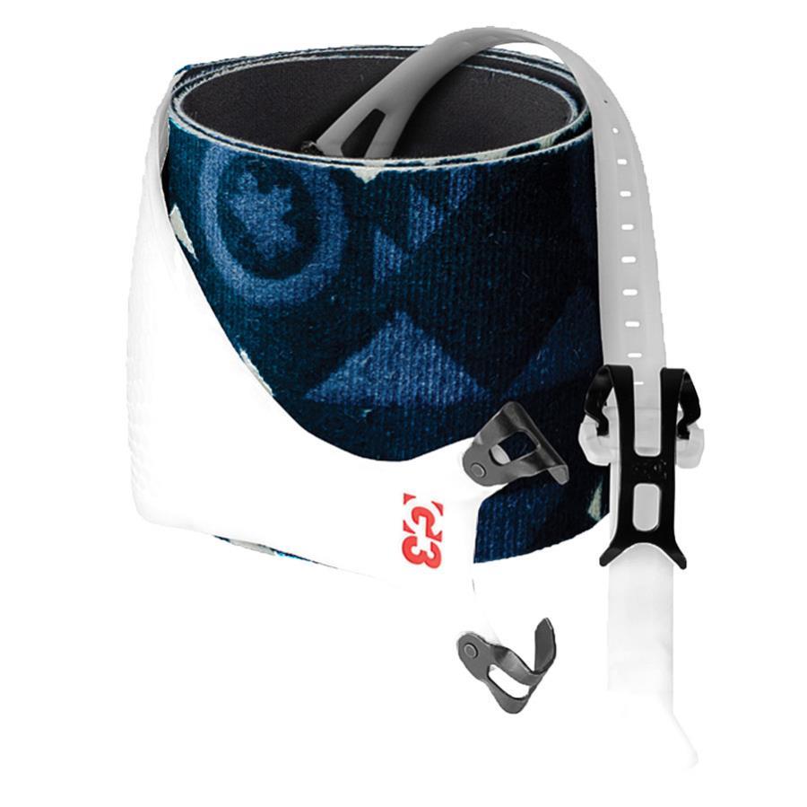 G3 Alpinist Grip+ Climbing Skins Pair, 145mm, Large Blue/White