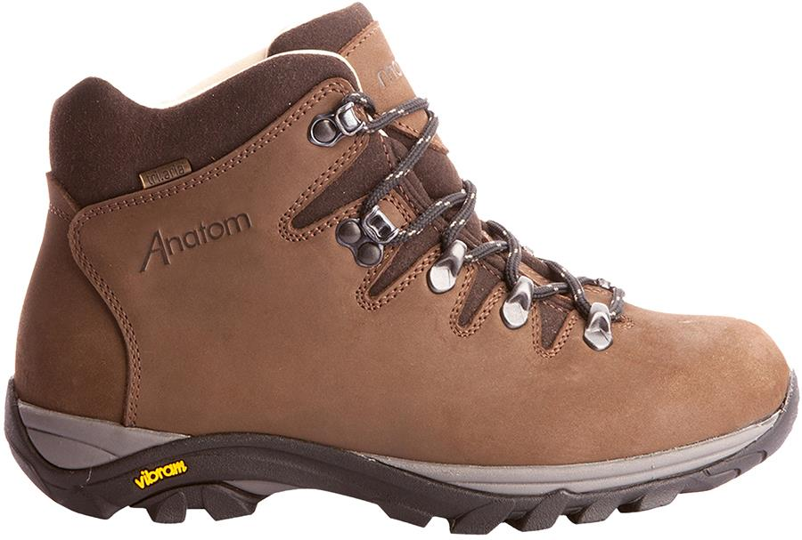 Anatom Q2 Ultralight Women's Leather Hiking Boots, UK 5 Chesnut