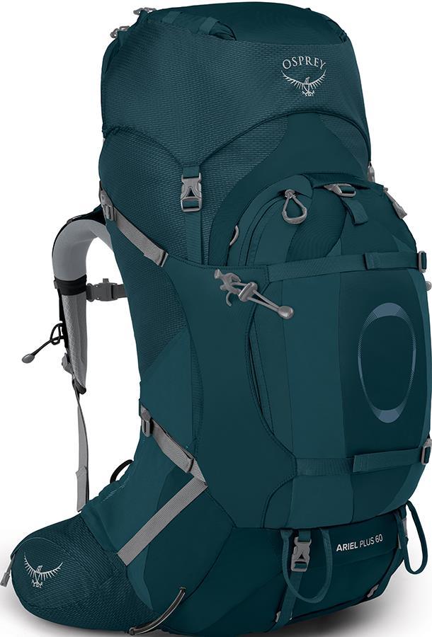 Osprey Ariel Plus 60 Women's XS/S Backpack, 58L Night Jungle