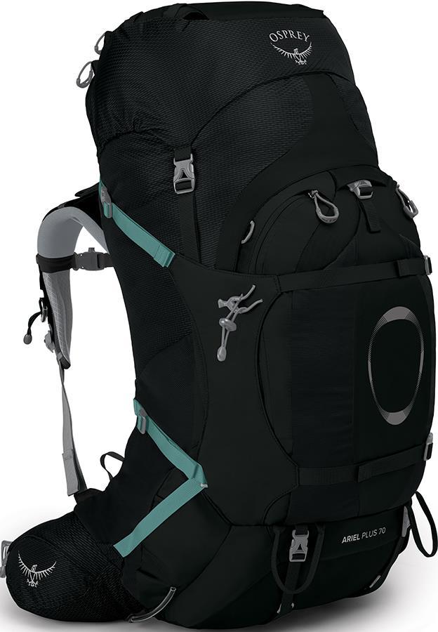 Osprey Ariel Plus 70 Women's XS/S Backpack, 68L Black