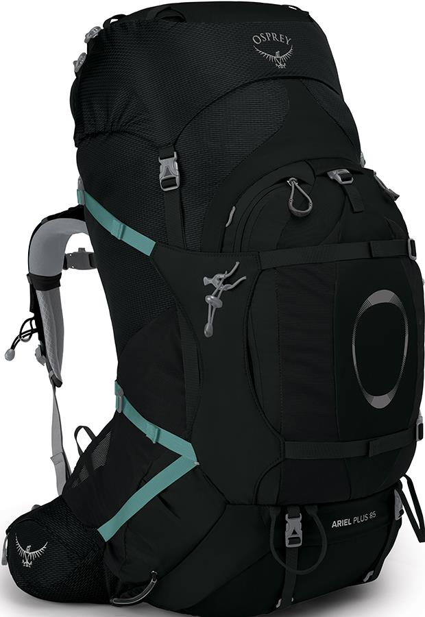 Osprey Ariel Plus 85 Women's XS/S Expedition Backpack 83L Black
