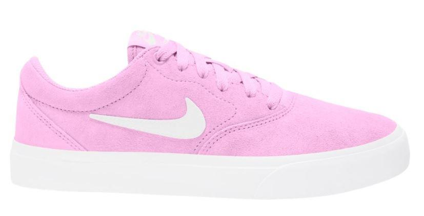 Nike SB Charge Suede Womens Skate Shoes, Uk 5.5 Beyond Pink