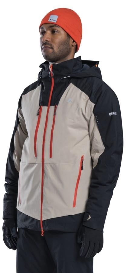 Orage Alaskan Ski/Snowboard Jacket, M Beige