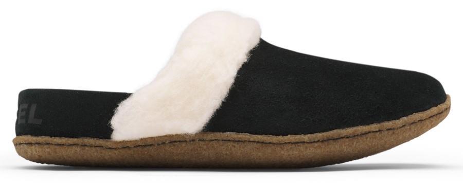 Sorel Nakiska II Women's Slippers, UK 7 Black/Natural