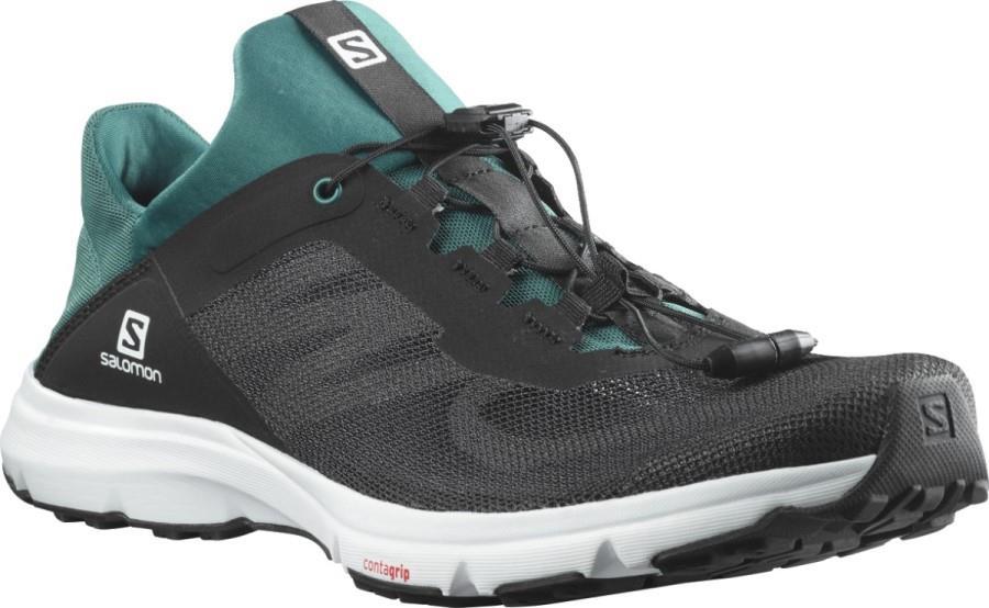 Salomon Amphib Bold 2 Men's Running Shoe, UK 11 Black/Pacific