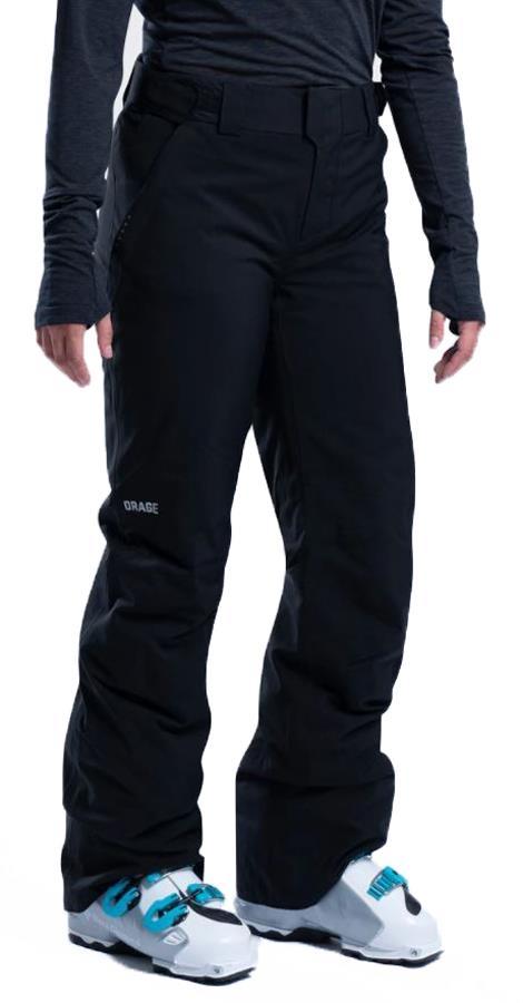 Orage Chica Women's Ski/Snowboard Pants, XS Black