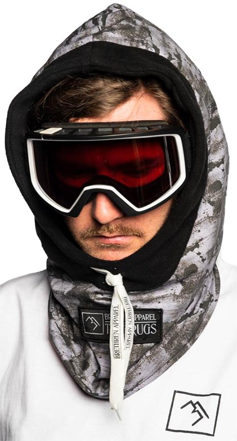 Brethren Apparel Thug Rug Ski/Snowboard Face Hood Black Ice