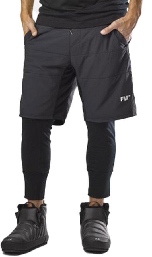 FW Manifest Hybrid Tour Hiking & Touring Pant/Short, M Black