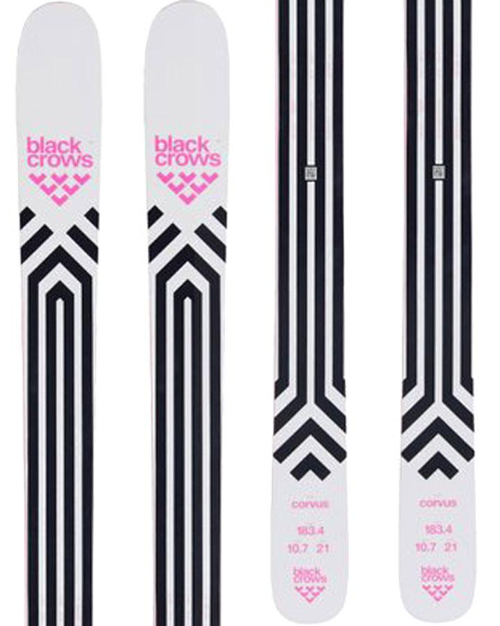 Black Crows Corvus Skis 188cm, White/Black, Ski Only