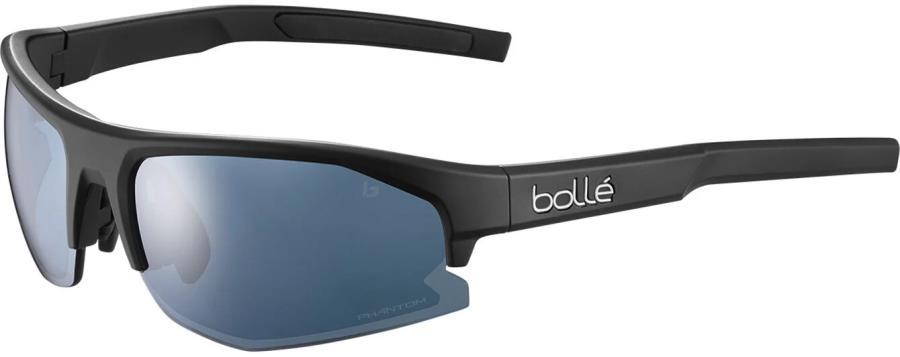 Bolle Bolt 2.0 Phantom Sunglasses, S Black Matte