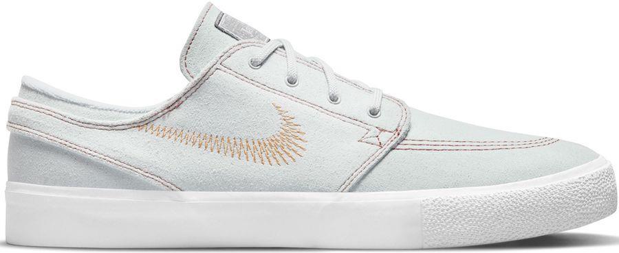 Nike SB Zoom Janoski FL RM Trainers/Skate Shoes UK 9.5 Platinum