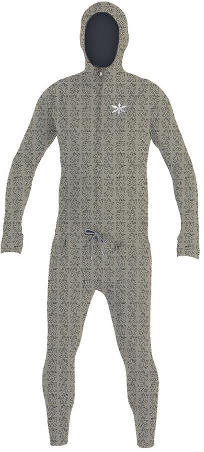 Airblaster Classic Ninja Suit Thermal Base Layer, M LB Puddle
