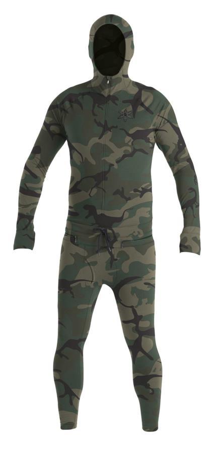 Airblaster Classic Ninja Suit Thermal Base Layer, S OG Dinoflage