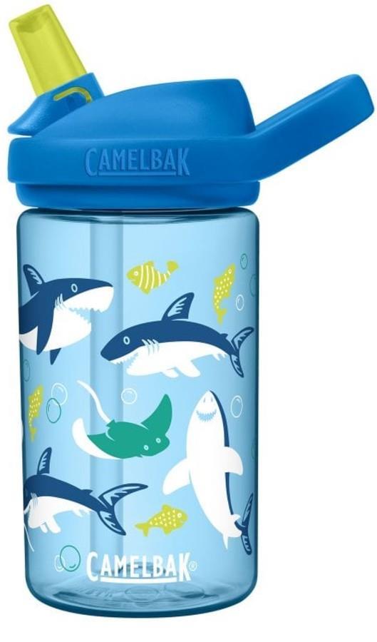 Camelbak Eddy+ Kids Children's Water Bottle, 0.4L Sharks and Rays
