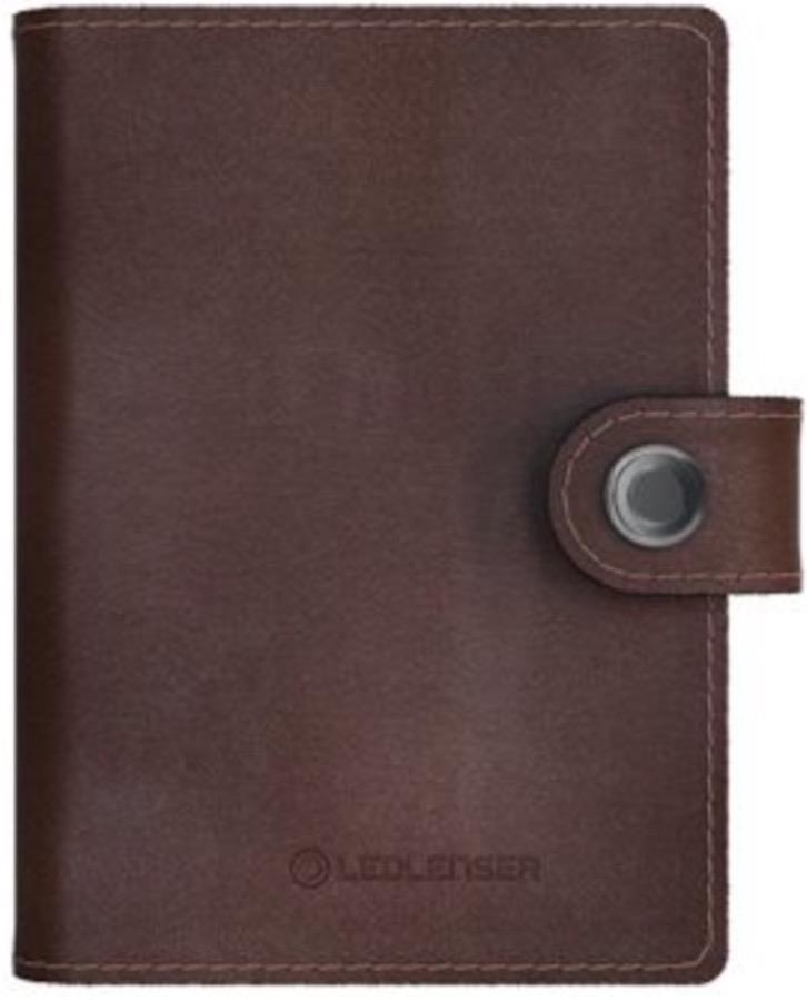 Led Lenser Lite Wallet Travel Case/LED Torch, 150 Lms Chestnut